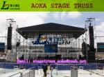 China stadium tower stage light aluminum truss (system),stage truss for sale form Aoka Stage wholesale
