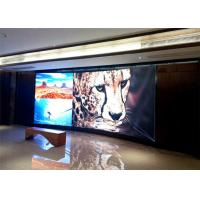 Waterproof Small Pitch LED Display , indoor advertising led video wall 111111 dot/㎡ Density