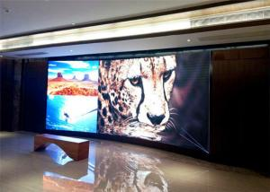 China Waterproof Small Pitch LED Display , indoor advertising led video wall 111111 dot/㎡ Density on sale