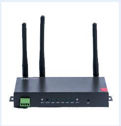China Industrial Wireless 4-Port Ethernet WCDMA-WCDMA Router with Dual SIM 3G, RS232, Wi-Fi H50 on sale
