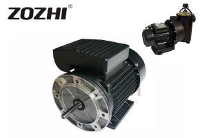 China Round Flange Single Phase Induction Motor 1.5 Hp 110v 60hz Capacitor Running on sale