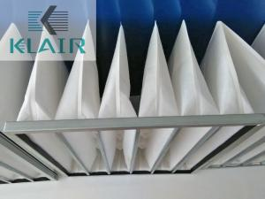 China Washable Bag Air Filters Ahu Air Conditioning With High Dust Load G3 G4 M5 M6 on sale