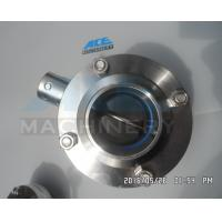 Welded Sanitary Stainless Steel Butterfly Valve (ACE-DF-7K)