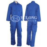 Made in China hot sale 100% cotton flame resistant coverall for safety clothing