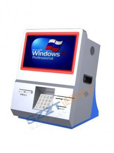 China Приказывать настольного компьютера ZT2833/компенсация/взаимодействующий киоск информации с читателем карточки on sale