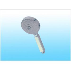 China Ahorro multi plástico plástico del agua de la cabezal de ducha de la función de Chrome de la ducha cuadrada on sale