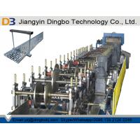 China Main Motor Power 22KW Cable Tray Ladder Manufacturing Roll Forming Machine PLC System Controller on sale