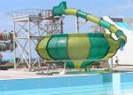 Space Bowl Funny Custom Water Slides / Amusement Park Equipment
