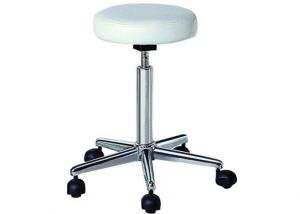 China Beauty Salon Rolling Chair For Hair Cutting , Swivel Counter Stools Gas Pump on sale