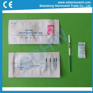 China High sensitive urine hcg pregnancy test strip for sale on sale