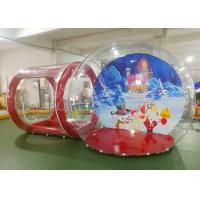 Crystal Inflatable Bubble House  / Inflatable Lawn Bubble Tent Easy Assembly