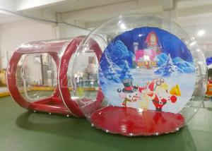China Crystal Inflatable Bubble House  / Inflatable Lawn Bubble Tent Easy Assembly on sale