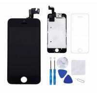 Portable Iphone LCD Touch Screen , Black 4.0 Inch Iphone 5S LCD Touch Screen