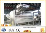 SUS 304 Turnkey Orange Juice Production Line with Siemens PLC  Touch Screen