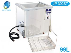 China Double Tanks Ultrasound Washing Machine , Automotive Ultrasonic Cleaner For Car Parts Grease on sale