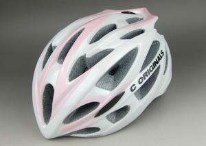China Lady Version PC Inmould Bicycle Helmet CE Approved and Different Types of Adjustment System For Choice on sale