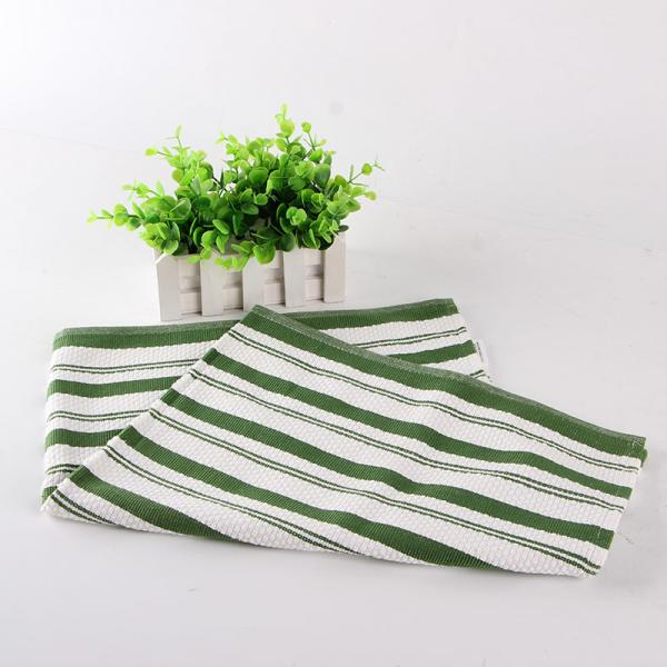 White And Green Kitchen Tea Towels , Printed House Kitchen ...