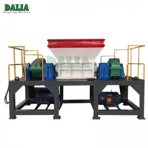 China Easy Operation Double Shaft Shredder Machine For Waste Mattress / Rubber Foam on sale