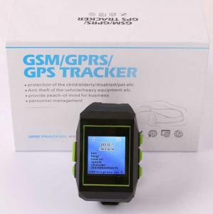 China GPS301 Watch Mobile Phone LBS GPS Tracker Child Kids Elderly Safety W/ SOS & 2-Way Talk on sale