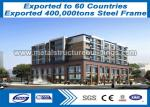 Multi Story Lightweight Steel Buildings To Canada Customer / Light Steel Construction