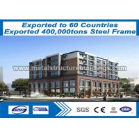 China Multi Story Lightweight Steel Buildings To Canada Customer / Light Steel Construction on sale