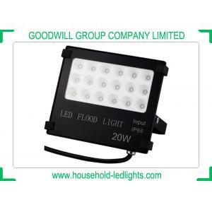 China IP65 High Powered LED Flood Lights , No Light Flicker 20 Watt Color Changing Outdoor Flood Lights on sale