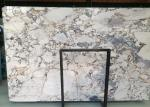 Galaxy Blue Marble Natural Stone Slabs 18mm Highly Polished Moisture Resistant