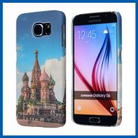 Castle Hard Plastic Blue Protective Samsung Galaxy S6 Case Cover