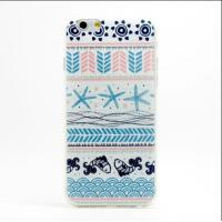 Durable Tribal Pattern Mobile Phone TPU Soft Case For Iphone 6 Accessories