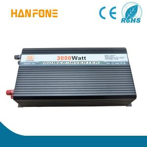 China HANFONG Solar Inverter Power supply 3000W DC 12V 24V 48V to AC 110V200V 3000w power inverter Inversor de la energía on sale