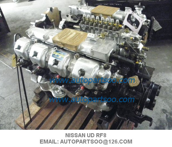 Nissan UD RF8 engine Used Motor for sale diesel engine for