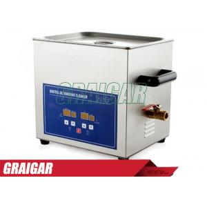 China Digital Ultrasonic Cleaners Ultrasonic Cleaning Equipment 10L 240W PS-40A for Home / Commercial on sale
