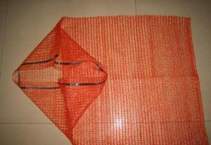 China Raschel vegetable mesh bags on sale