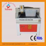 Modificado para requisitos particulares haciendo publicidad de la máquina de grabado del CNC TIE-6090
