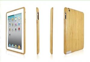 China Luxury Natural Wood Case For Apple iPad Mini Cases Bamboo Wood Hard Back For Apple iPad Mini 2 Retina on sale