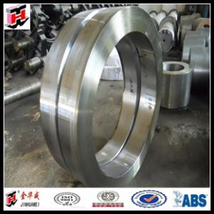 China free forging 4140 OEM steel gear rings forging parts on sale