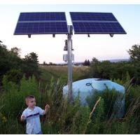 Daily water supply 160,000 liters solar power water pump system working 8-10 hours/day