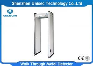 China UNIQSCAN UB500 Muti Zone Walk Through Body Scanner Door Frame Metal Detector Gate For Airport Security Equipment on sale
