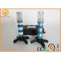 3 pcs AAA Dry Battery Powered LED Emergency Flashlight Magnetic Bottom