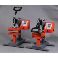 Textile / Mark / Cap Pneumatic Double Stations Heat Press Machine CE