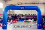 Cheap Blue Inflatable Arch for Trade Show and Business Display