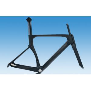 Quality 1000g -1150g Carbon Fibre Road Bike Frame UD Matte / Gloss Finish HT-R206 for sale