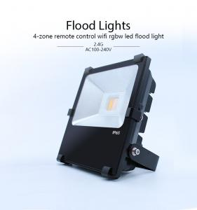 China 2.4G RF Remote Control RGBW 10W LED Outdoor Lighting IP65 with Pure Aluminum Reflector on sale