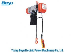 China Fixed Transmission Line Stringing Tools 1 Ton Electric Chain Hoist For Lifting on sale