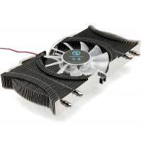 Energy Saving DC5V VGA Coolers , AMD 80mm Slim LED Cooling Fan