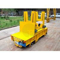 China 50t Hydraulic lifting battery power scrap transfer car with dumping device on sale