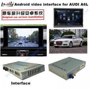 Quality Android navigation box interface for Audi A1 3G MMI video mirror link cast screen for sale