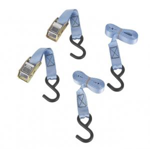 China Cambuckle Tie-Down Straps 1.8m x 25mm 2 Piece Set on sale