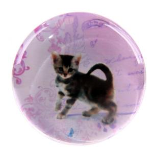 China Powerful Cat Epoxy Sticker on sale