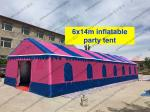 Colorfull PVC Event Tent 6 x 14m , Large Event Tents Inflatable With PVC Windows